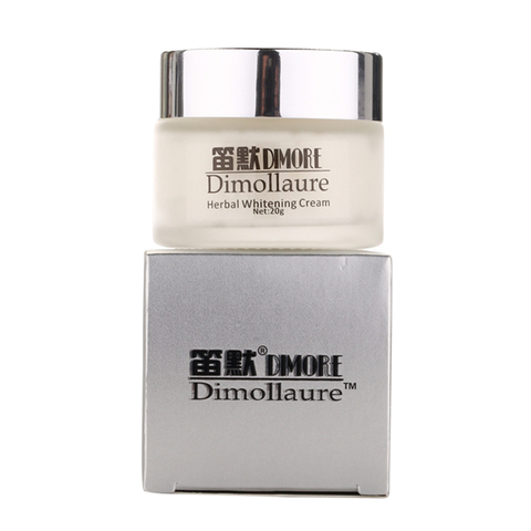 Dimollaure Strong effect whitening cream 20g  Remove Freckle melasma Acne Spots pigment Melanin face care cream by Dimore Pakistan