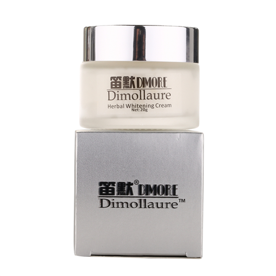 Dimollaure fuerte efecto blanqueamiento crema 20g eliminar pecas El melasma acné puntos pigmento melanina cara cuidado crema por Dimore