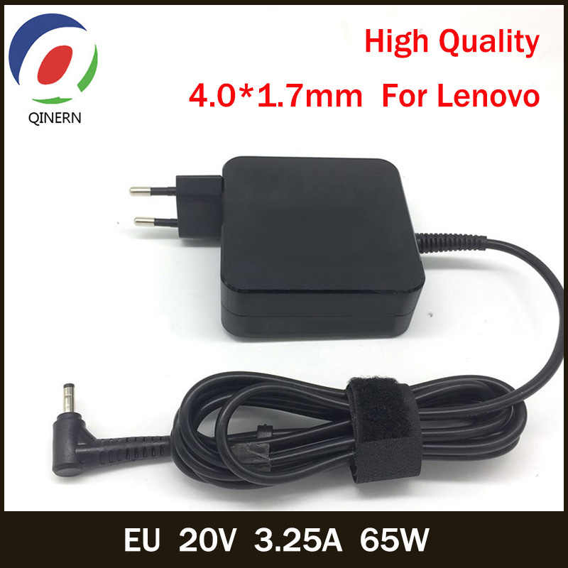 QINERN EU 20V 3,25 A 65W 4.0*1,7mm AC Laptop Ladegerät Für Lenovo IdeaPad 100-15 B50-10 YOGA 710 510-14ISK Notebook Power Adapter