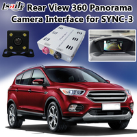 1080P High Quality Backup Panorama Camera Interface for 2016 2017 Ford SYNC 3 Kuga Edge F150 support Front Camera Optional