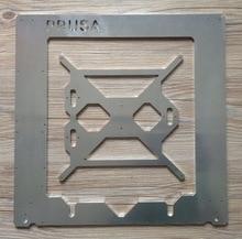 Horizon Elephant Prusa i3 Rework aluminum frame kit for DIY 3D printer RepRap Prusa i3 aluminum alloy frame 6mm thickness