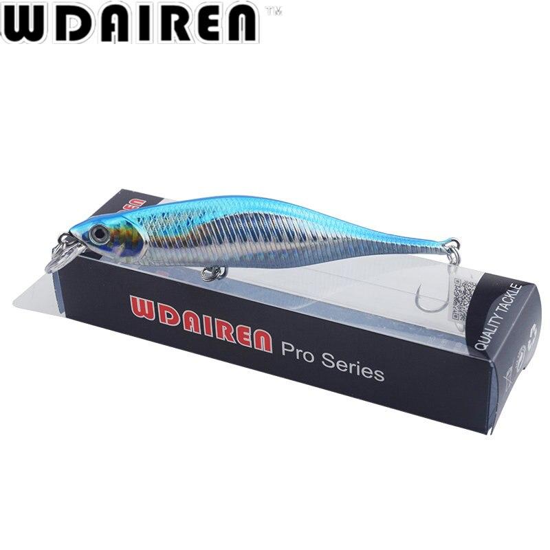 WDAIREN New Fishing Lures Minnow Crank 11cm/11g Artificial Japan Hard Bait Wobbler Swimbait Hot Model Crank Bait 5 Colors WD-478