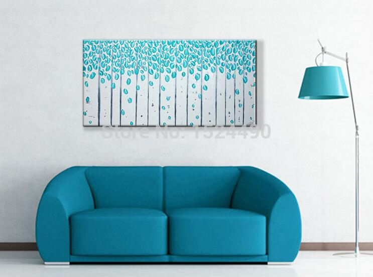 Sky blue home decor