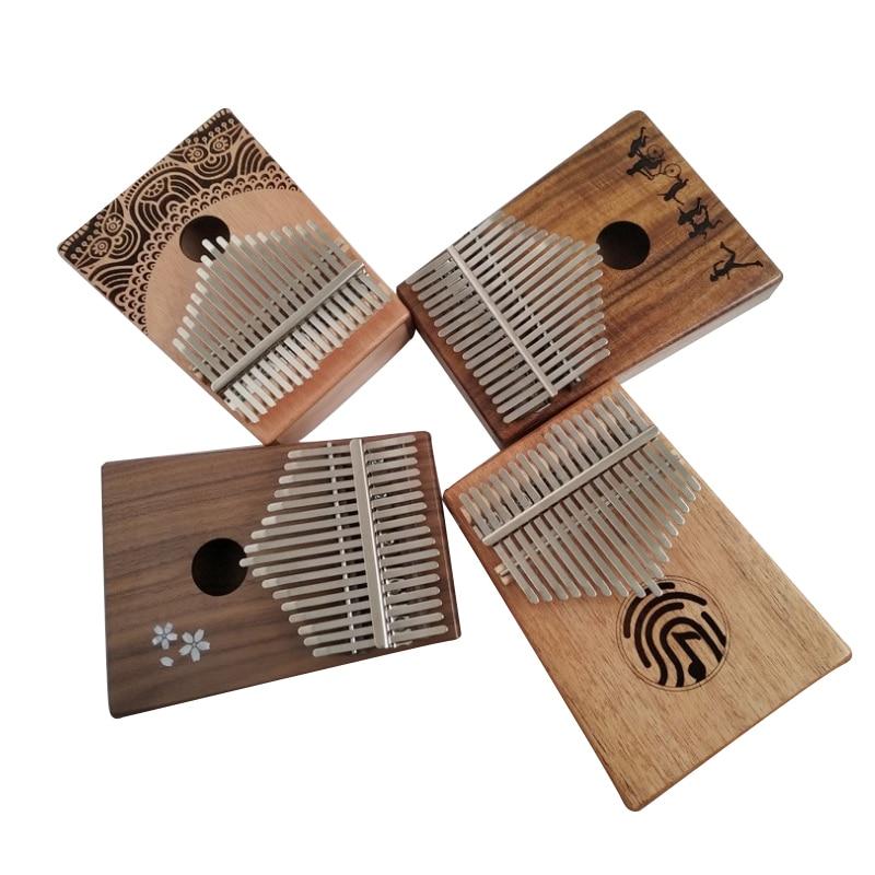 BeatBox Kalimba 17 touches pouce Piano poche taille débutants sac de soutien amical et clavier Instrument de musique