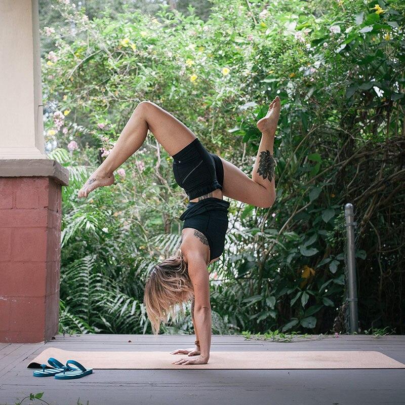 Do-al-Olmayan-toksik-Mantar-Yoga-Mat-kaymaz-Egzersiz-mat-Spor-Salonu-Paspaslar-Jimnastik-Pilates-Spor