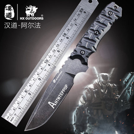 HX OUTDOORS Camping knife Survival Tactical Carambit knife Army hunting tools Fixed blade high hardness straight knife EDC tools hx outdoors d2 blade knife camping saber tactical fixed knife zero tolerance hunting survival hand tools quality straight knife