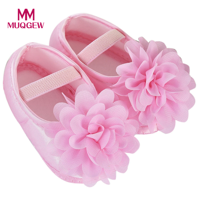 Kids Baby Shoes Prewalker Flower Soft Sole Infant Girl First Walkers  Booties for Newborn Anti- 6286d65d1758