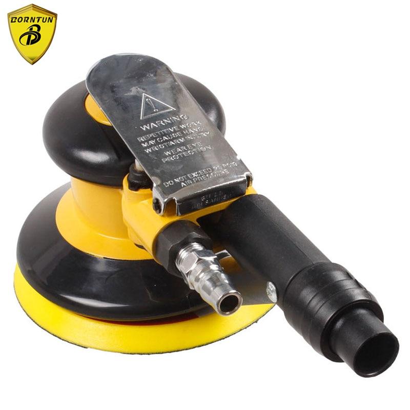 "Здесь продается  Borntun 5"" Air Sander with Vacuum Function 125mm Pneumatic Sander 5 inches Air Sanding Portable Wood Pneumatic Air Polisher Tool  Инструменты"