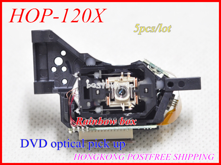 5pcs / lot (핫 세일) DVD 광학 헤드 HOP-120X / 120X 휴대용 EVD EDVD 모바일 TV 레이저 렌즈 HOP 120 X