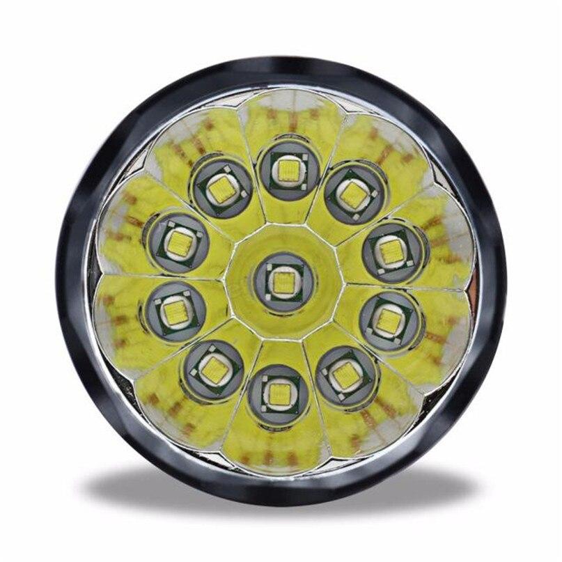 New 28000 Lm 11T6 LED Bicycle lantern bike Headlamp HeadLight Lamp Flashlight Lights 6400mAh battery farol bike light #2A26 (7)