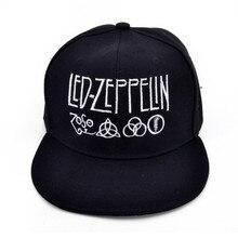 256cdc446e0 Led Zeppelin Rock Band cap Men 2017 Hot Summer Cotton Punk Hip Hop hat  British rock