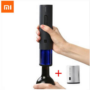Xiaomi Huohou Automatic Red Wine  opener Bottle Stopper Electric Corkscrew Foil Cutter Cork Out Tool for Xiaomi Smart Home Kits