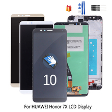 Original For Huawei Honor 7X BND-L21 Touch Screen Digitizer LCD Display Phone Parts For Honor 7X Screen LCD Display Free Tools for nokia n95 not n95 8gb n96 original phone lcd screen digitizer display free tools free shipping