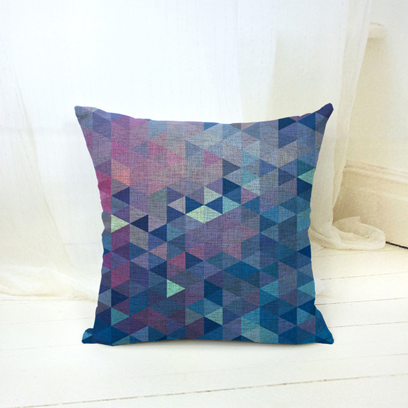 Blue Pillow Covers Living Room: EHOMEBUY Cushion Cover Living Room Cushions Pillow Cover