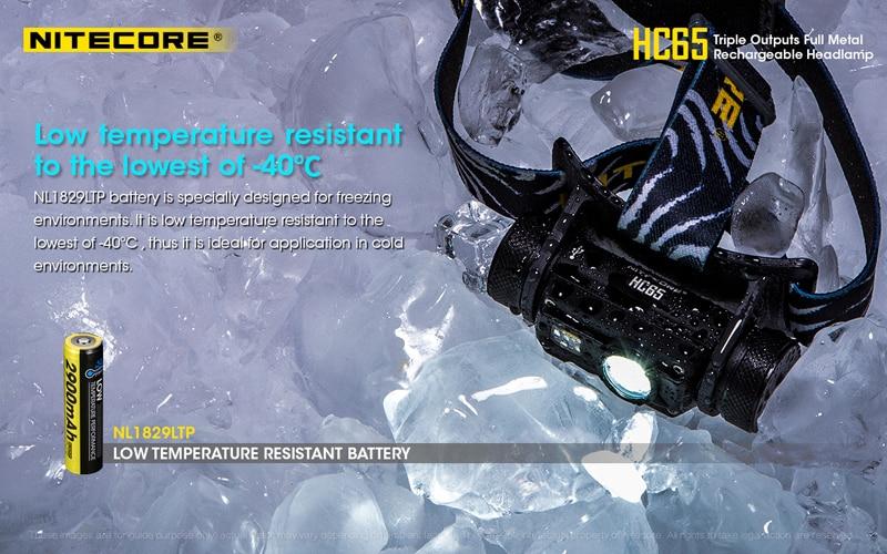 Nitecore HC65 1000 Lumens Rechargeable Headlamp (17)