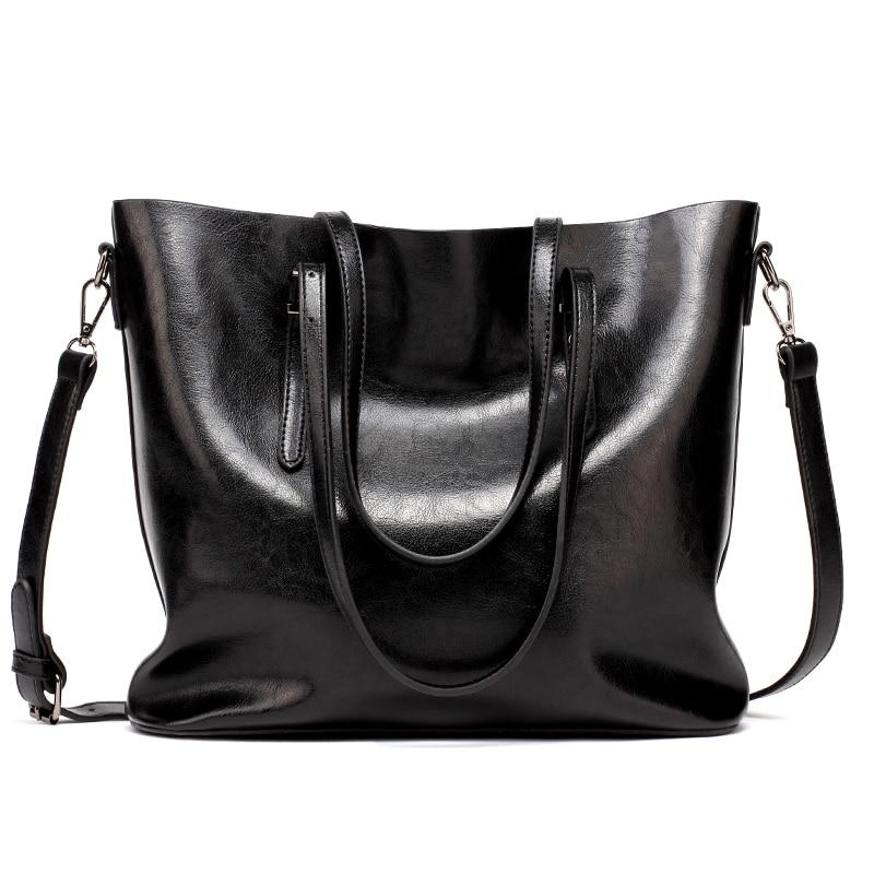 Women Tuff  Leather Tote Handbag 4