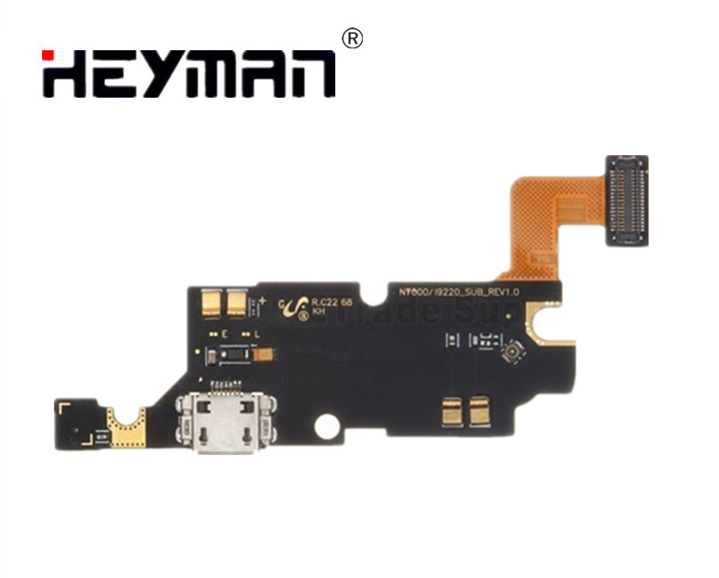 Heyman Flex Cable For Samsung Galaxy Note GT-N7000/GT-I9220 Charging Port Flat Cable Ribbon (charge Connector, With Components)