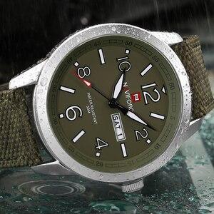 Image 3 - NAVIFORCE reloj de pulsera deportivo para hombres, reloj de pulsera militar para hombres, reloj de pulsera informal a la moda para Camping, reloj Masculino