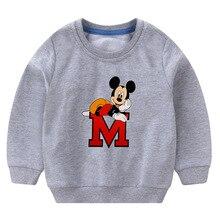 Minnie Mickey Sweatshirt Tops Long Sleeve Baby Clothes
