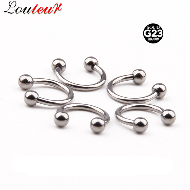 LOULEUR 1pc Septum Fake...