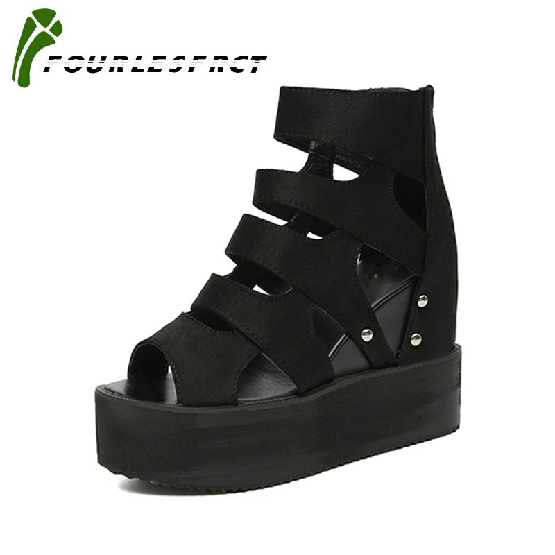 2018 New Summer Wedges Shoes Woman Platform Sandals Ladies Open Toe Breathable Shoe Women Casual Shoes Platform Wedge Sandals phyanic platform gladiator sandals 2017 new casual wedge shoes woman summer women ankle boots side zipper party shoes phy5036
