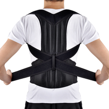Adjustable Posture Corrector Corrective Therapy Corset Full Back Shoulder Brace