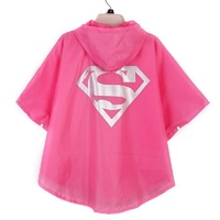 BP детский плащ Одежда Водонепроницаемый Super heroes пальто ребенок Супермен супергероя плащи непромокаемый ткань для детей JJ SYYYBP