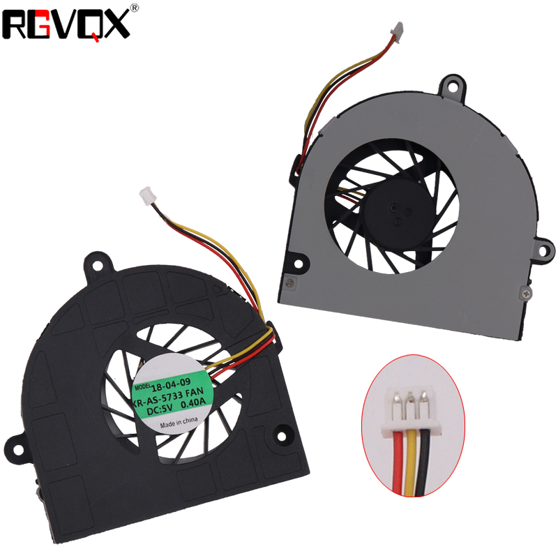 New Laptop Cooling Fan For ASUS K53 K53U K53B K53BY K53T K53U A53U K43T  PN AB07605MX12B300 GC057514VH-A CPU Cooler Radiator