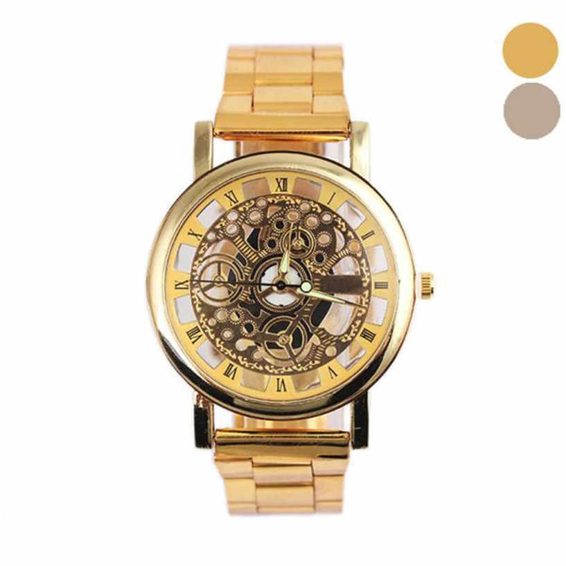 X-2019 ใหม่ Relogio Masculino นาฬิกาผู้ชายแฟชั่นผู้ชายแถบเกียร์นาฬิกานาฬิกาขายส่ง Dropship