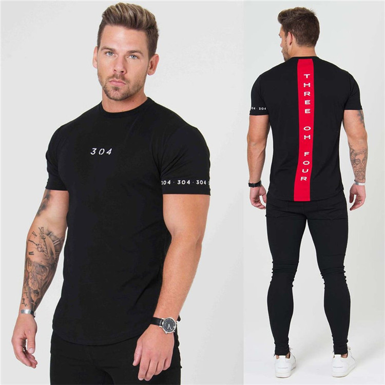 394e94006 US $17.86 5% OFF|2018 Men's Running T Shirt Gym shirt Short Sleeve Round  Neck Leisure Sports T Shirt Fitness jogging Tops-in Running T-Shirts from  ...