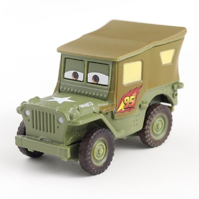 Disney Pixar машина 3 автомобиль 2 Маккуин автомобиль Игрушка 1:55 литой металлический сплав модель Игрушечная машина 2 детские игрушки День рождения Рождественский подарок - Цвет: 14