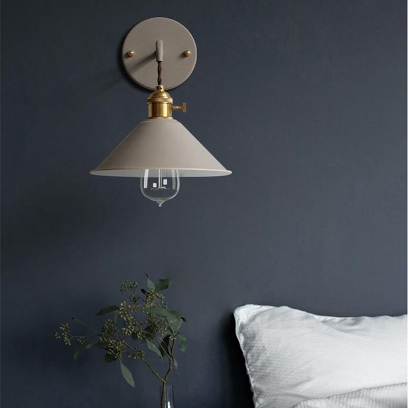 7 Colors Nordic Led Wall Lights Sconce Modern Wandlamp Art ... on Wall Sconce Lighting Decor id=79578