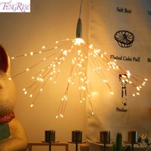 FENGRISE Fairy String LED Lights Wedding Decorations Supplies Deco for Home & Event Festive Party Favor