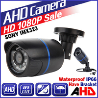 3 28BigSale FULL AHD CCTV Camera SONY IMX323 720P 960P 1080P 3000TVL 2 0MP Waterproof IP66