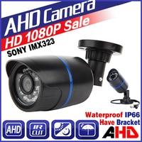 3 28BigSale FULL AHD CCTV Camera SONY IMX323 720P 960P 1080P 3000TVL 2 0MP Waterproof IP66