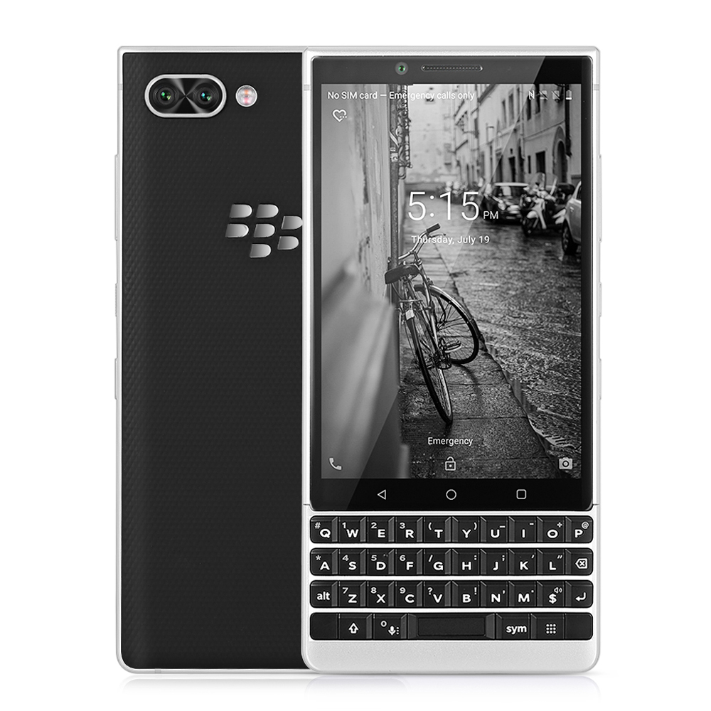 BlackBerry KEY2 4G Smartphone 4.5 Inch Android 8.1 Snapdragon 660 Octa Core 6GB+64GB 12MP Dual Rear Cam Mobile Phone Fingerprint
