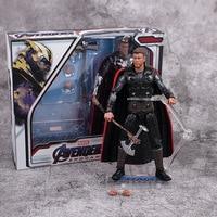 17 см Мстители эндгейм Тор Капитан Америка Марвел Капитан война машина фигурка игрушки кукла Рождественский подарок с коробкой