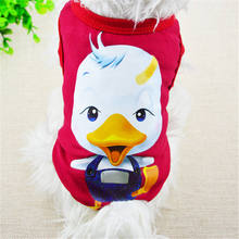 цена на Hip Hop Style Dog T-shirt Soft Puppy Dogs Clothes Lovely Large Mouth animal Costume Pet Clothing Summer Shirt Casual Vests