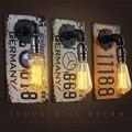 Простые настенные светильники  магазин одежды для бара  промышленные настенные светильники для номерного знака  Светильники для ресторано...