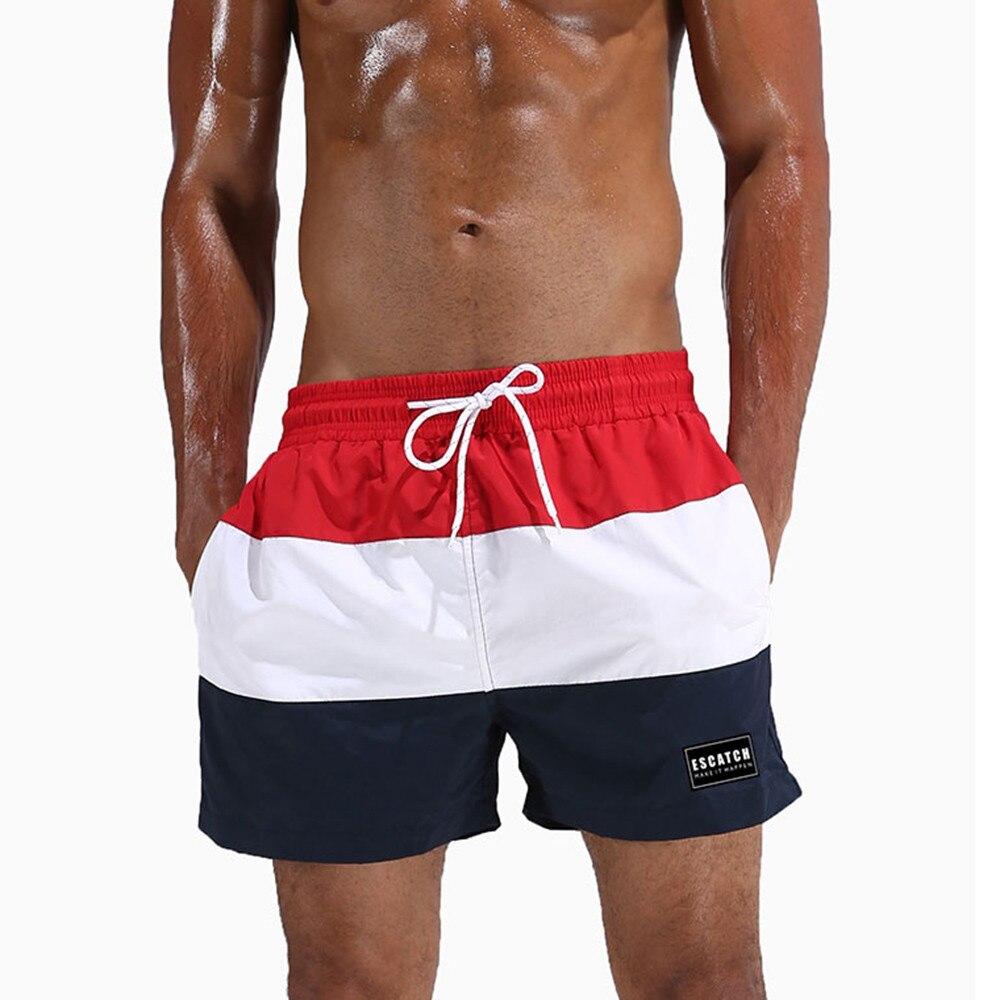 Fashion Mens Swim Trunks Zz top Rock Band Logo Summer Beach Shorts Quick-Drying Elastic Waist