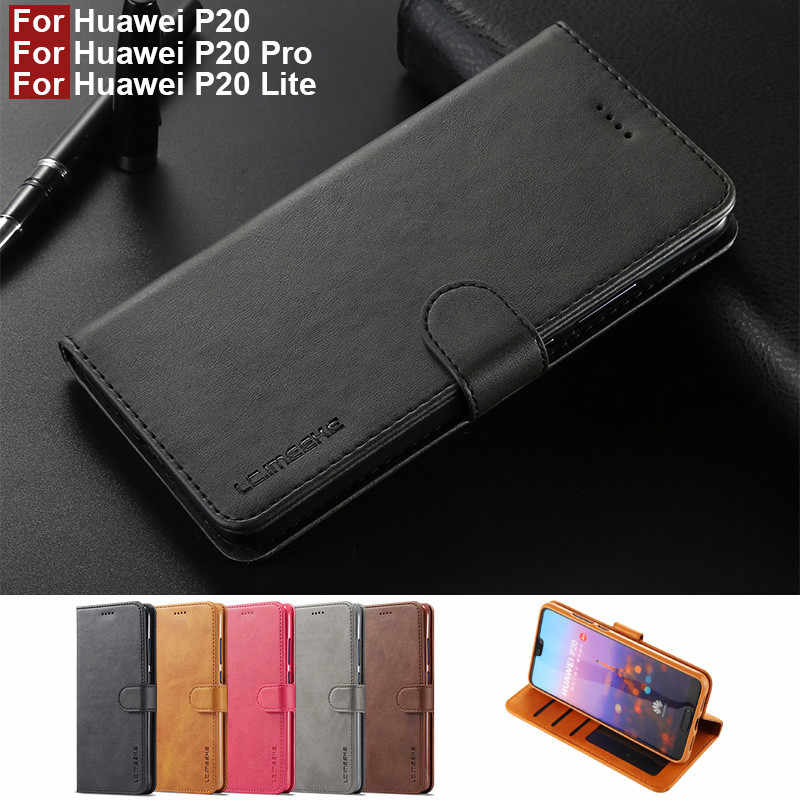 Huawei P20 Pro Case Leather Vintage Phone Case On Huawei P20 Lite Case Flip Magnetic Wallet Case For Hoesje Huawei P20 Lite Bags Wallet Cases Aliexpress