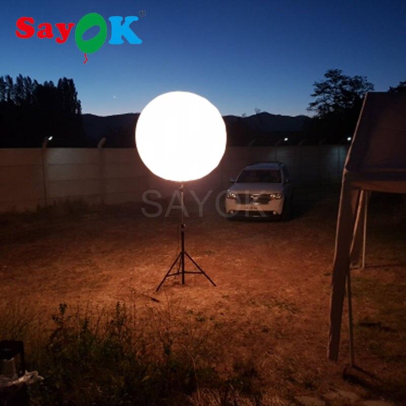 Offre Spéciale Gonflable Stand Trépied Ballon avec Halogène Lumière ou RGB Lumière pour Événement Publicité