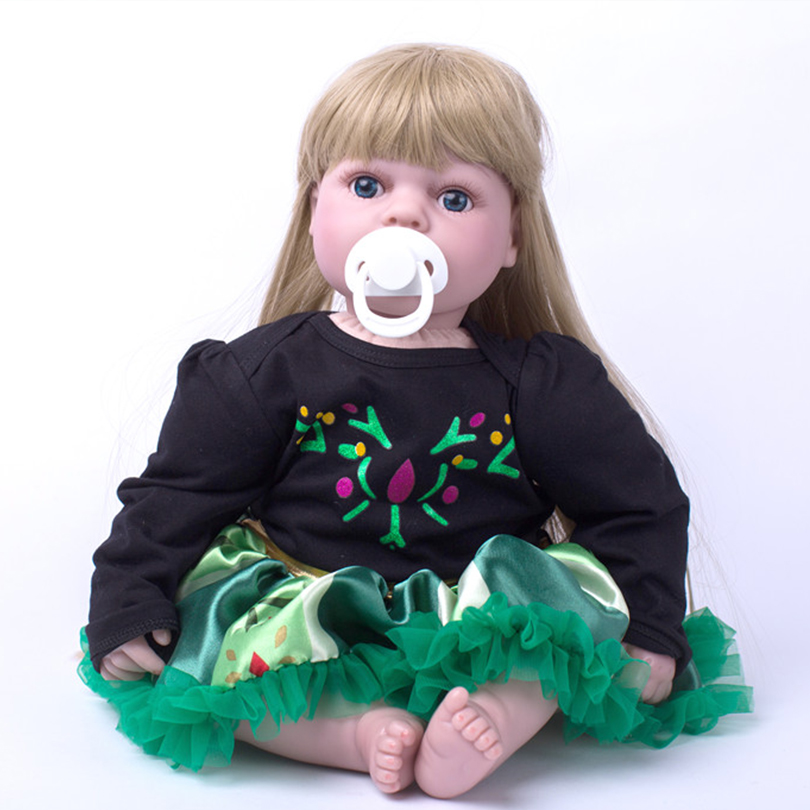 Cotton Body Reborn Dolls 2017 Gift for Children Toys Alive Babies Doll Brinquedos Lovely Princess Doll for Girls NewbornCotton Body Reborn Dolls 2017 Gift for Children Toys Alive Babies Doll Brinquedos Lovely Princess Doll for Girls Newborn