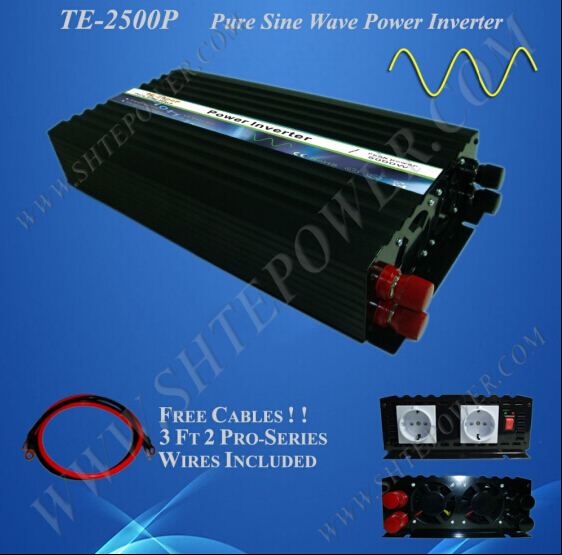 Pure Sine Wave Power converter off grid solar 2500w inverter 12vPure Sine Wave Power converter off grid solar 2500w inverter 12v