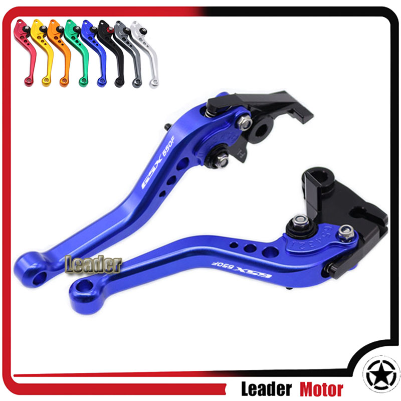 For SUZUKI GSX650F GSX 650F GSX650 F GSX 650 F 2008-2015 Motorcycle Accessories Short Brake Clutch Levers adjustable long folding clutch brake levers for suzuki gsx 650 f gsx650f 08 09 10 11 12 13 14 15 2014 gsf 650 bandit n s 2015