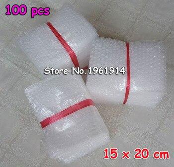 Enveloppes à bulles, 100 pochettes d'emballage, lot de Mailer PE, 150 pièces 8*10cm 10*15cm 200 x sac cadeau mm