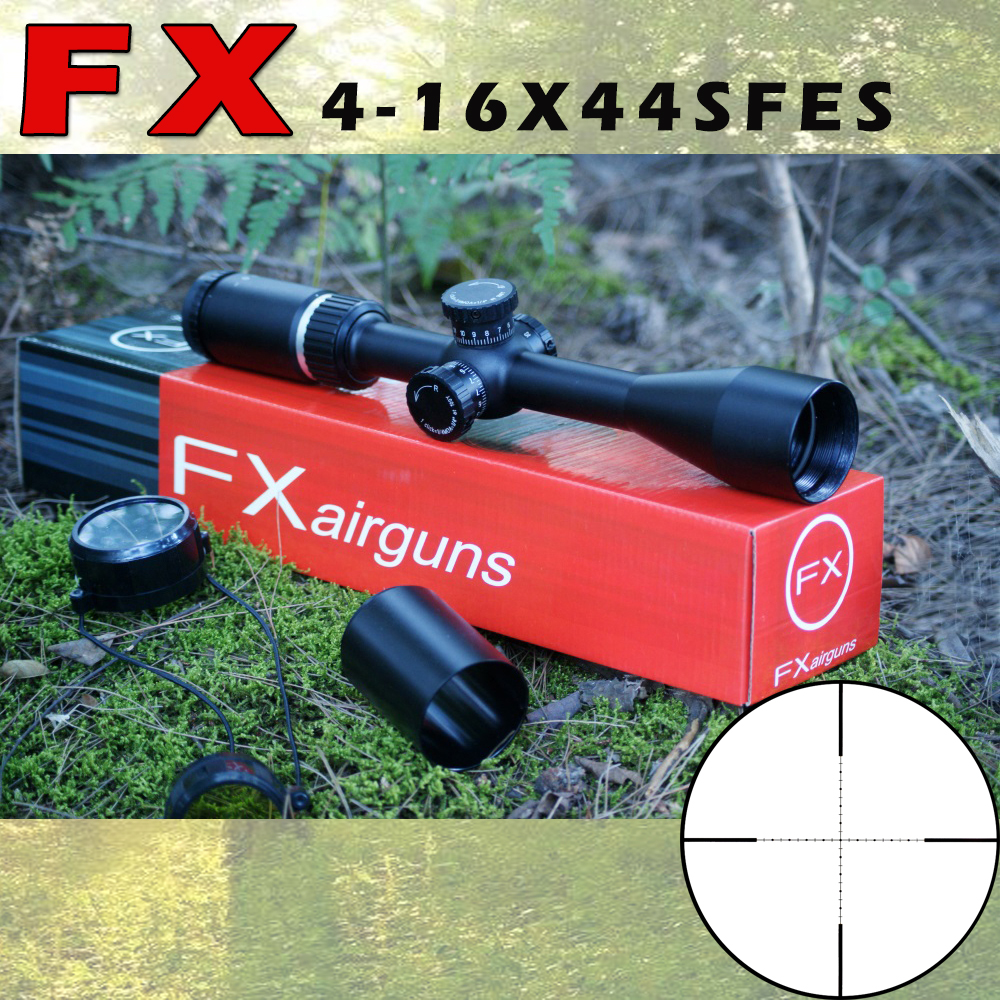 Special Made FX-4-16X44SSEF Tactical RiflesScope For AirRifle Sniper Hunting Optics Sight  Riflescope For Shooting Outdoors