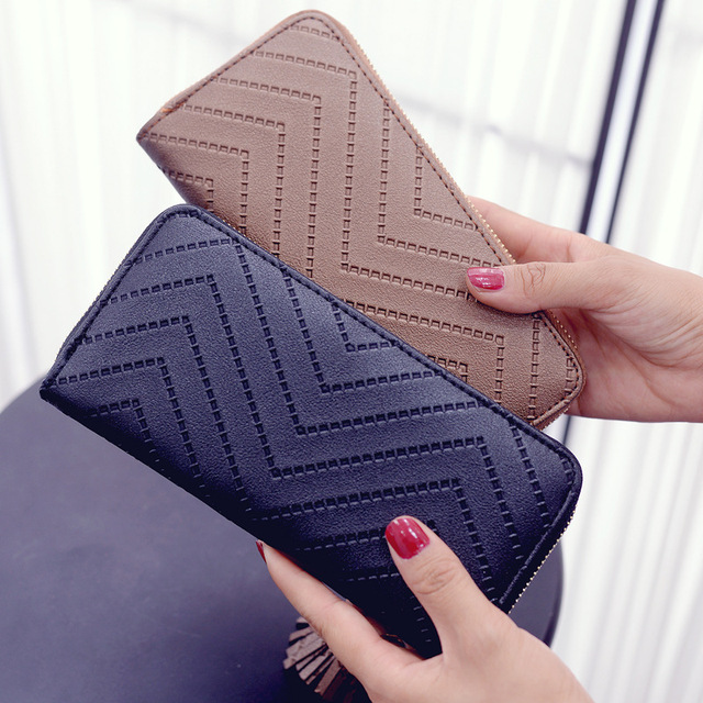 Long Wallet Women Purses Tassel Fashion Coin Purse Card Holder Wallets Female High Quality Clutch Money Bag PU Leather Wallet