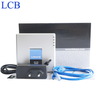 Unlocked Linksys Voice SIP IP Phone SPA2102 VoIP Phone ATA Adapter With Router Telefone Server System
