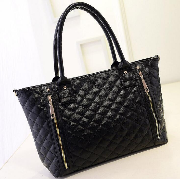 Female bag in the winter of the new version of its 2017 parcel ling, embroider line female bag handbag shoulder oblique satchel
